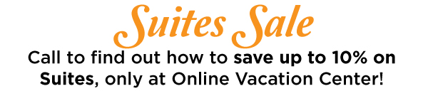 Save up to 10% on Suites