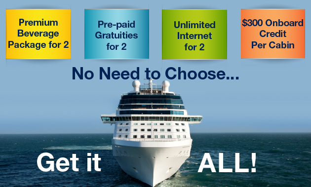 CEL Cruises With Amenities Call In Only - Cruise ship internet