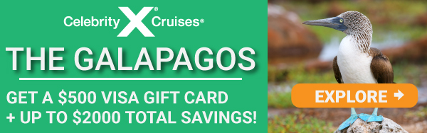 Celebrity Galapagos Offer