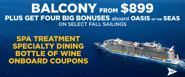 BALCONY FROM $899 + SPA CREDIT + SPECIALTY DINING AND MORE