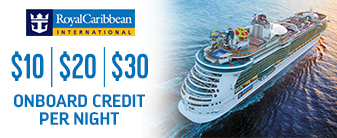 Royal Caribbean with BONUS Onboard Credit