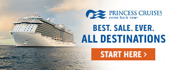 Princess Cruises with Tips, Drinks, Wifi & More