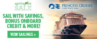 Princess Cruises Spring on Sale