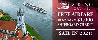 Viking Cruises with BONUS Onboard Credit