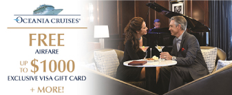 Oceania Cruises Special Offer!