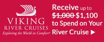 Viking River Cruises with BONUS Shipboard Credit