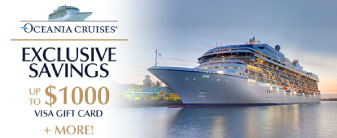 Oceania Cruises with Exclusive Savings!
