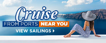 Cruise from a Port Near You with a Special Offers!