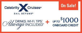 Celebrity Cruises on Sale!