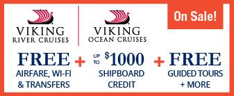 Viking Cruises on Sale!
