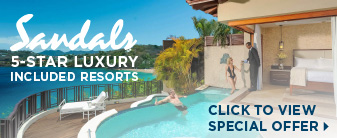 Sandals Resorts with a Special Offer