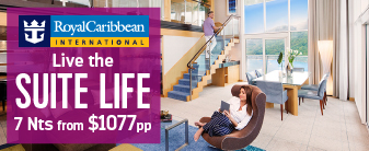 Royal Caribbean Suites with up to $800 to Spend
