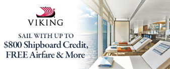 Viking Cruises with Bonus Shipboard Credit!