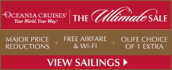 Oceania Cruises Ultimate Sale