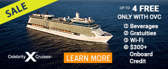 Celebrity Cruises with up to 4 Free Extras