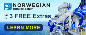 Norwegian Cruise Line with up to 3 Extras