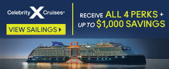 Celebrity Cruises with up to All 4 Extras