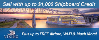 Viking with $1,000 Shipboard Credit & More!