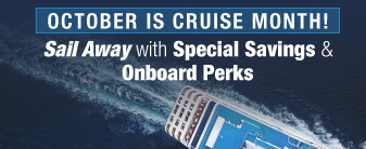 National Cruise Month Special Offers on your Favorite Cruise Lines