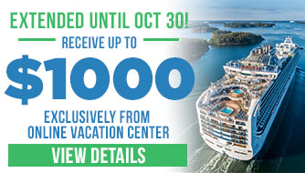 Cruise with up to $1000 Onboard Credit!
