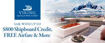 Viking with up to $800 Shipboard Credit & More!