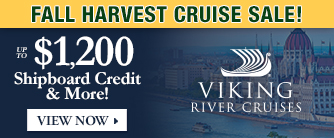 Viking Cruises Fall Sale