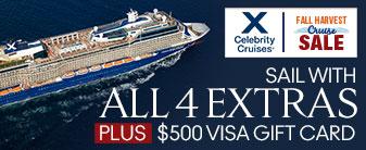 Celebrity Cruises Fall Sale