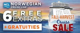 Norwegian Cruises with FREE Gratuities & Extras