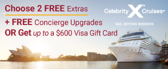 Celebrity Give Thanks Savings Event Offer: Concierge Class Upgrades & More