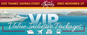 Exclusive Value Inclusive Packages with Special Onboard Credit