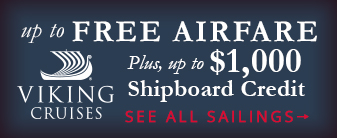 Sail aboard Viking River Cruises with up to Free Airfare and $1000 Shipboard Credit
