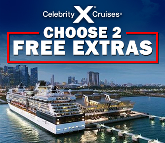 2 Free Extras on BRAND NEW Celebrity Cruises
