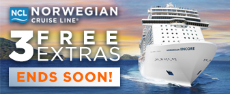 Last Call for 3 Free Extras on Norwegian