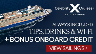 Celebrity Cruises with Bonus Onboard Credit