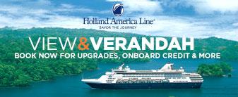 Holland America Line View & Verandah Sale