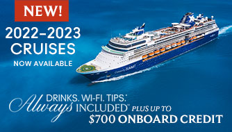 Celebrity Cruises with Bonus Onboard Extras