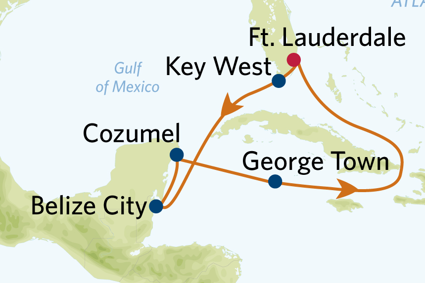 7 night western caribbean cruise roundtrip tampa celebrity apex