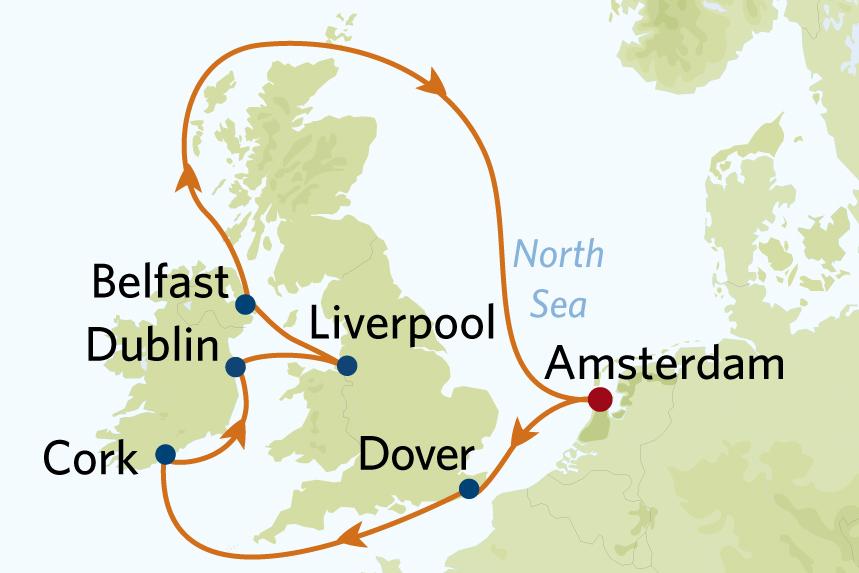 Celebrity British Isles Cruise