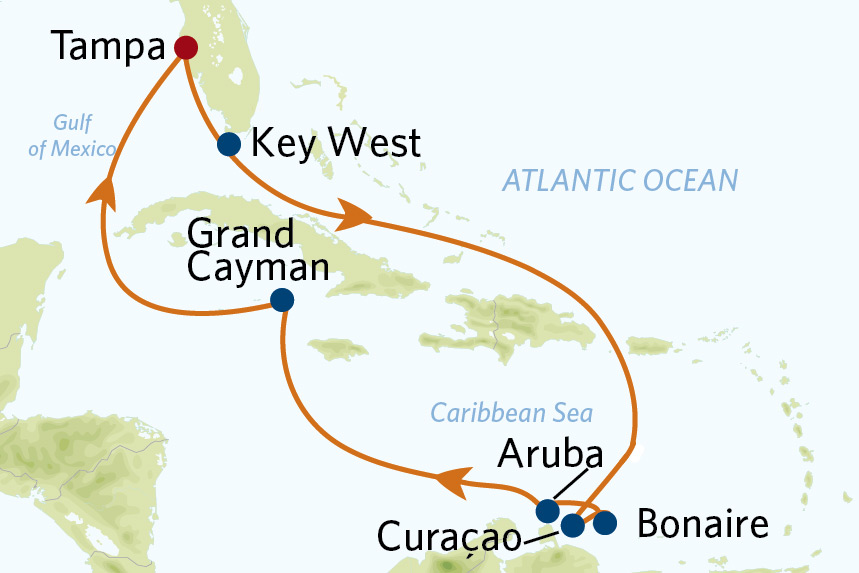 11 night southern caribbean cruise roundtrip tampa on celebrity constellation