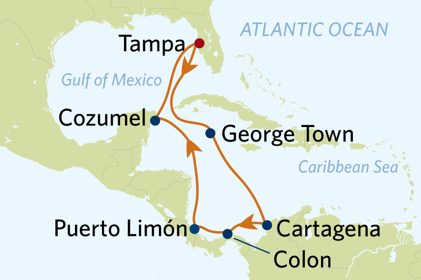 celebrity cruise western caribbean 12 night from tampa