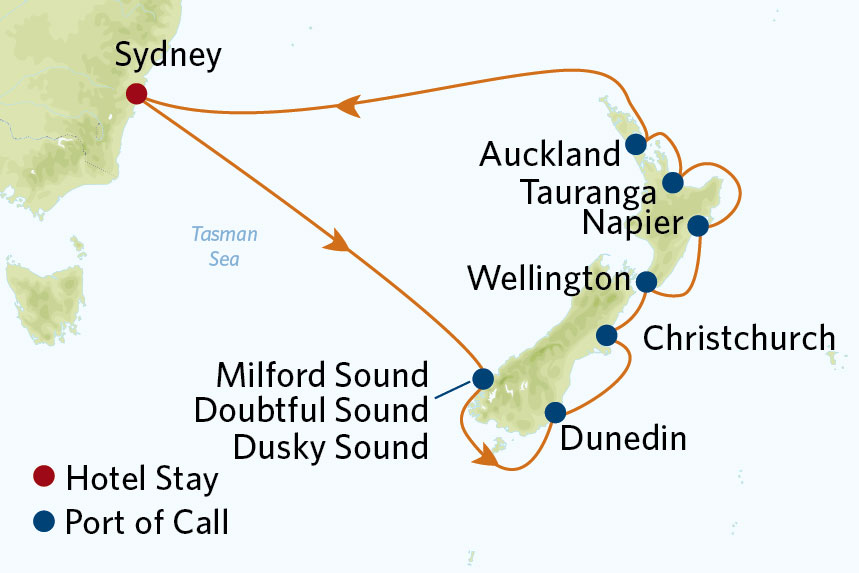 Celebrity Australia and New Zealand Value Inclusive Package