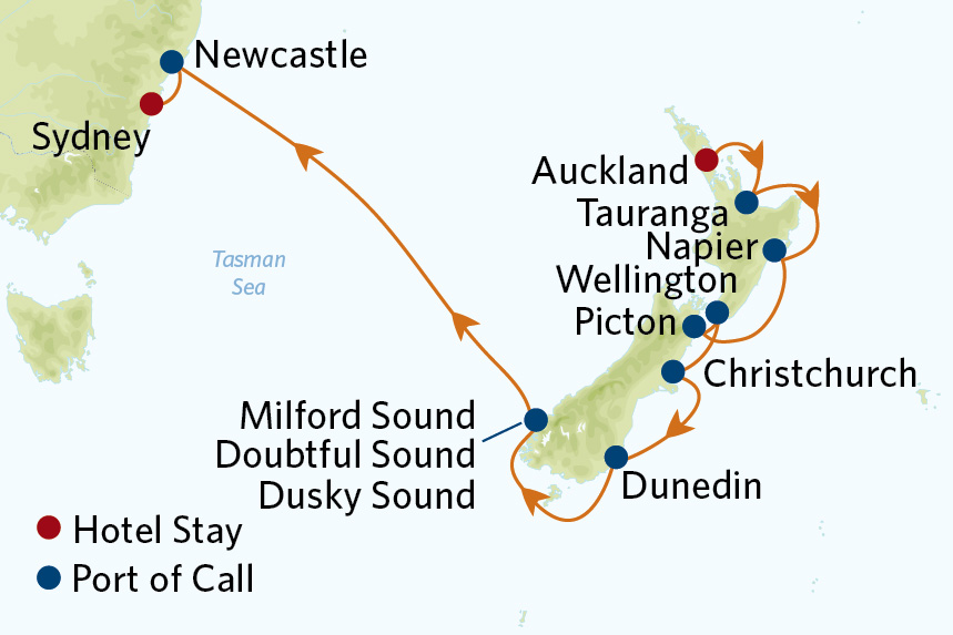 Celebrity Australia and New Zealand Cruise Package