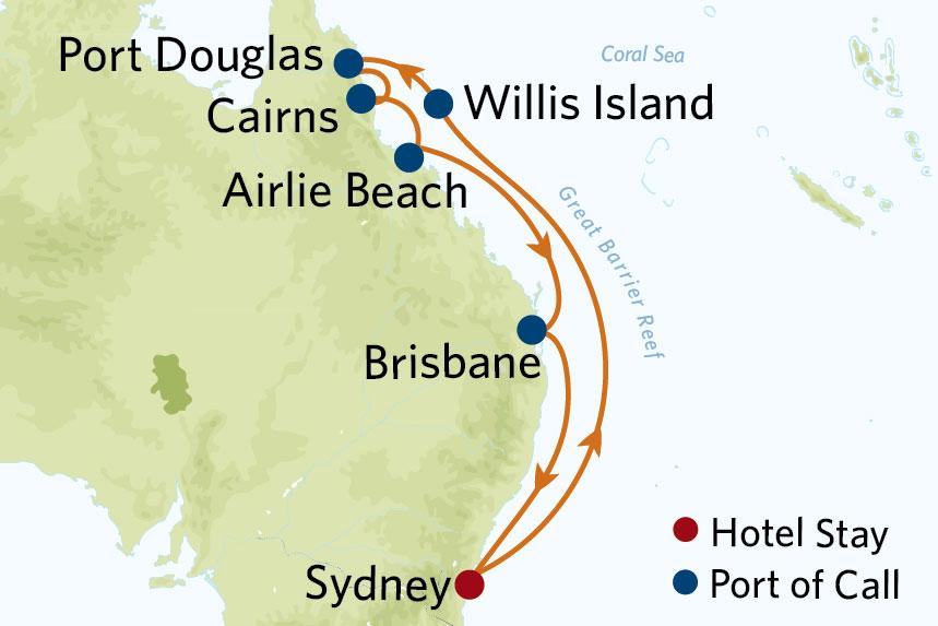Celebrity Australia Cruise Package
