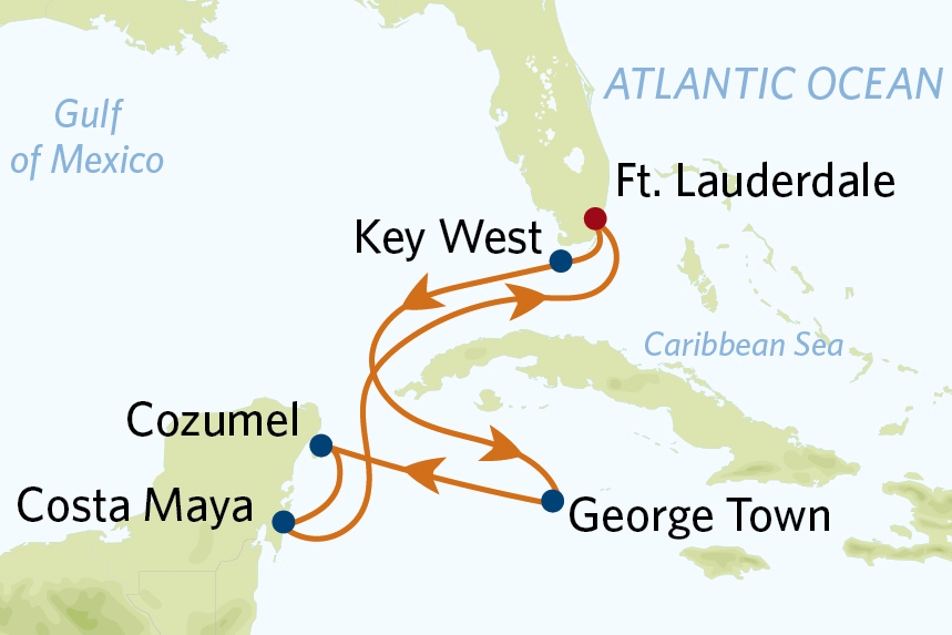 CEL 7 Nt Western Caribbean Edge Cruise only