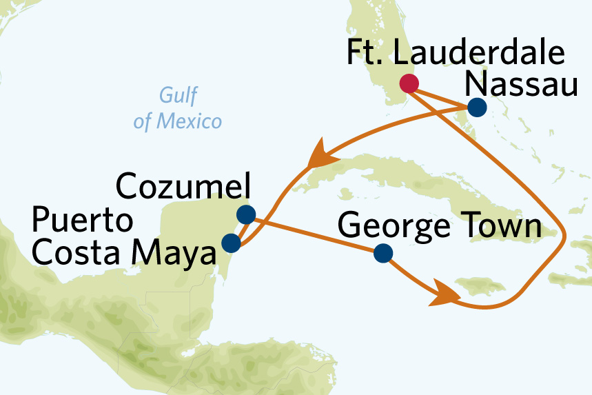 7 night western caribbean cruise roundtrip fort lauderdale on celebrity Edge