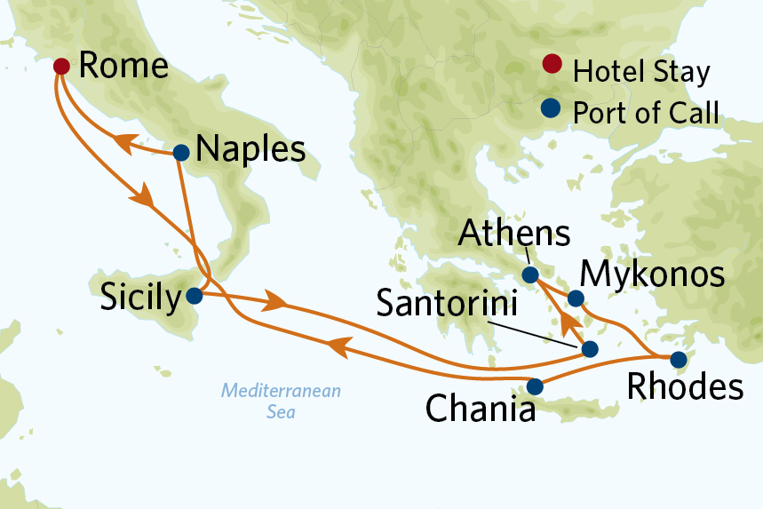 CEL 12 Nt Greek Isles VIP