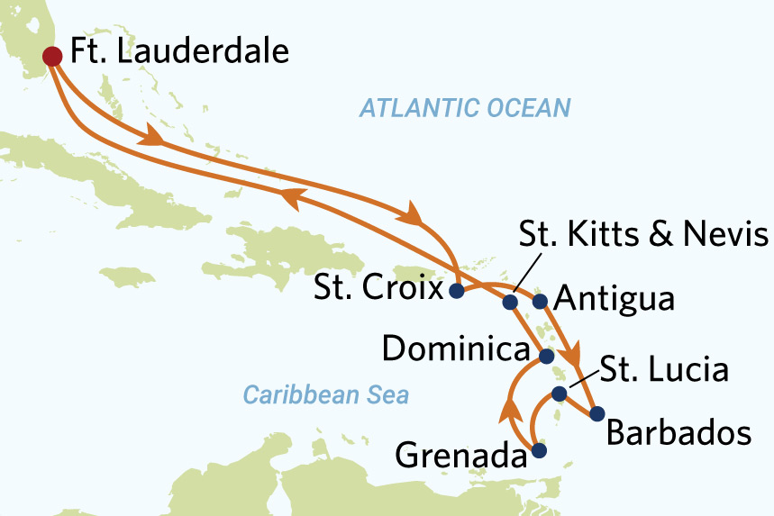 12 night southern caribbean roundtrip fort lauderdale cruise on celebrity equinox