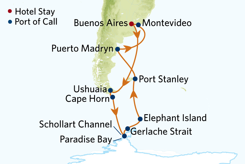 Celebrity Antarctica Cruise