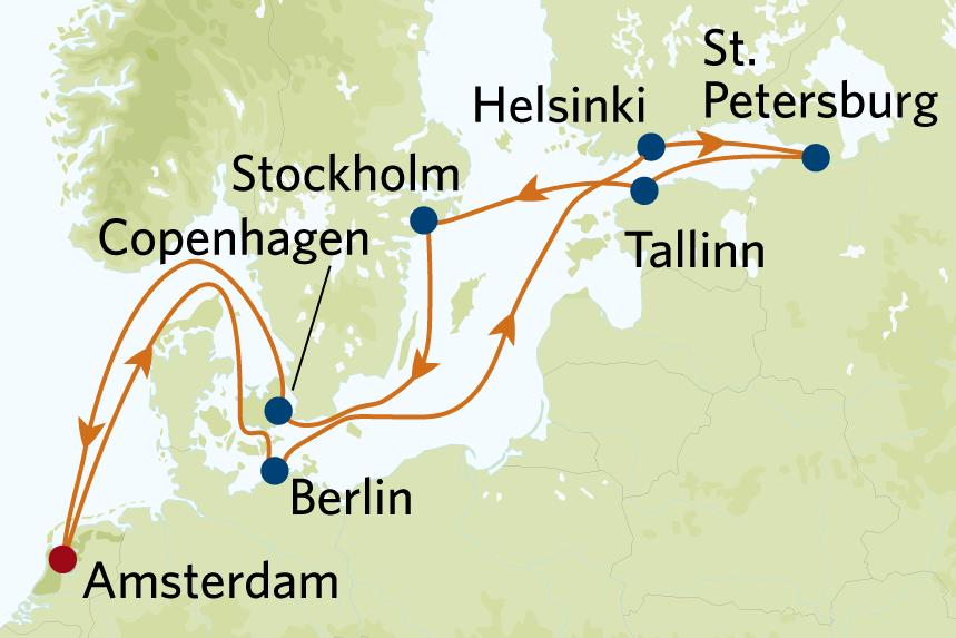 northern capitals