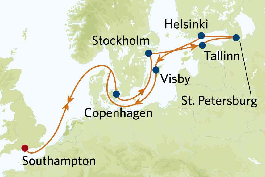 Celebrity Nothern Capitals Cruise